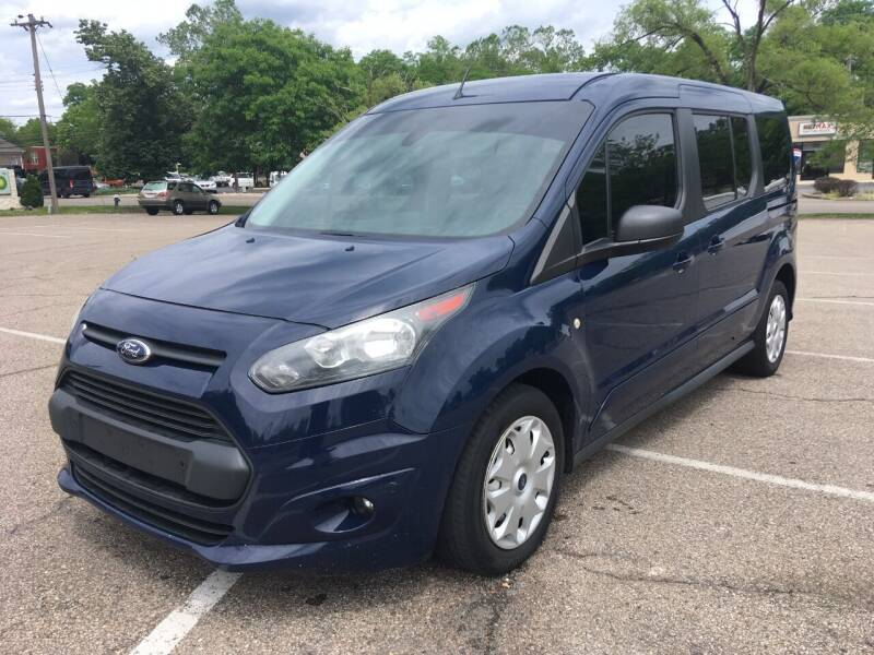2014 Ford Transit Connect Wagon for sale at Borderline Auto Sales in Loveland OH