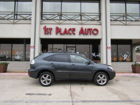 2007 Lexus RX 400h for sale at First Place Auto Ctr Inc in Watauga TX