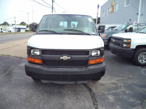 2010 Chevrolet Express Cargo for sale at H and H Truck Center in Newport News VA