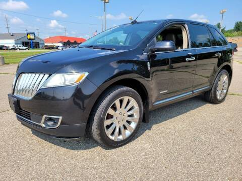2011 Lincoln MKX for sale at Finish Line Auto Sales Inc. in Lapeer MI