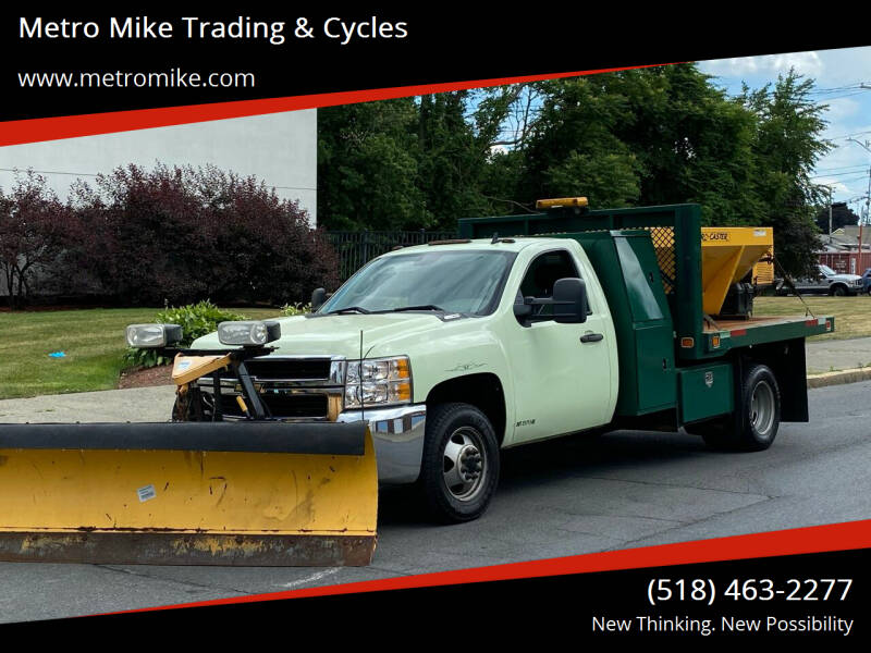 2008 Chevrolet Silverado 3500HD for sale at Metro Mike Trading & Cycles in Albany NY