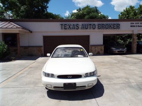 1994 Infiniti J30 for sale at Texas Auto Broker in Killeen TX