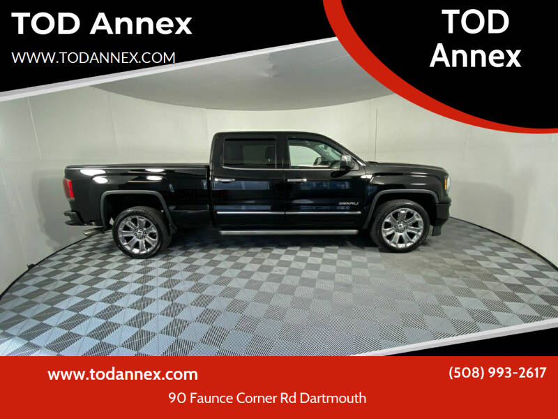 2018 GMC Sierra 1500 for sale at TOD Annex in North Dartmouth MA