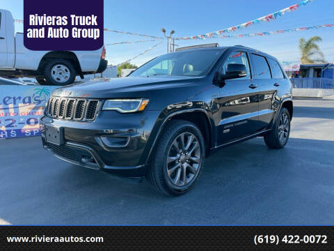 2016 Jeep Grand Cherokee for sale at Rivieras Truck and Auto Group in Chula Vista CA