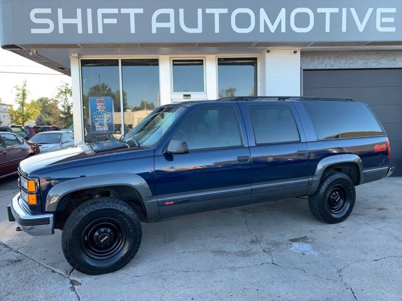 1999 GMC Suburban for sale at Shift Automotive in Denver CO