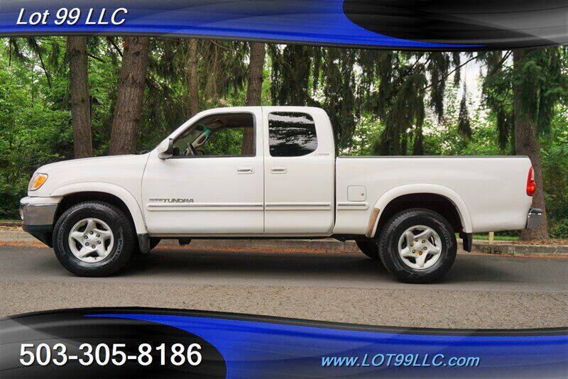 2001 Toyota Tundra for sale at LOT 99 LLC in Milwaukie OR