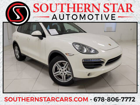 2012 Porsche Cayenne for sale at Southern Star Automotive, Inc. in Duluth GA
