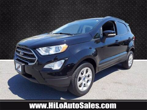 2018 Ford EcoSport for sale at Hi-Lo Auto Sales in Frederick MD