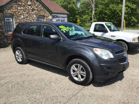 2010 Chevrolet Equinox for sale at Mobile-tronics Auto Sales in Kenockee MI