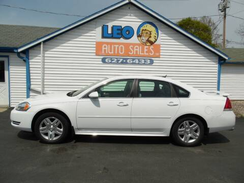 2014 Chevrolet Impala Limited for sale at Leo Auto Sales in Leo IN