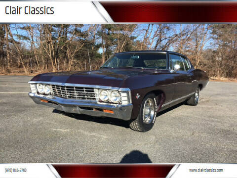 1967 Chevrolet Caprice for sale at Clair Classics in Westford MA