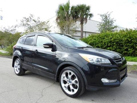 2013 Ford Escape for sale at SUPER DEAL MOTORS in Hollywood FL