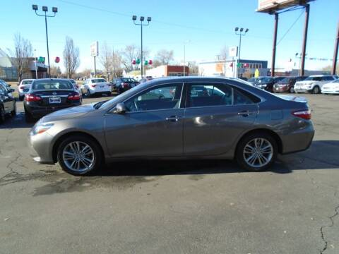 2017 Toyota Camry for sale at Smart Buy Auto Sales in Ogden UT