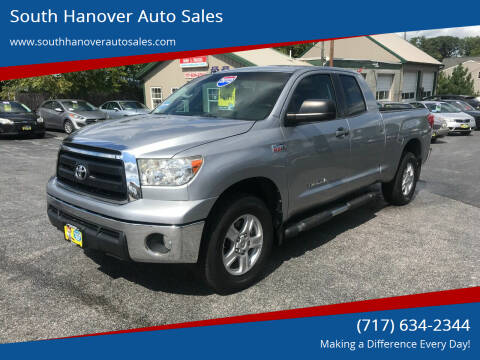2012 Toyota Tundra for sale at South Hanover Auto Sales in Hanover PA