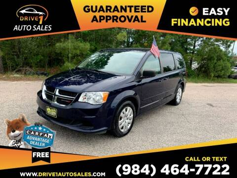 2016 Dodge Grand Caravan for sale at Drive 1 Auto Sales in Wake Forest NC