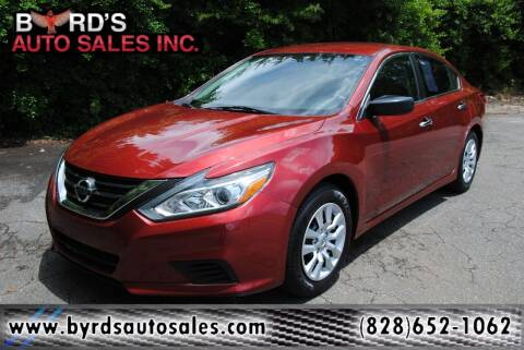 2017 Nissan Altima for sale at Byrds Auto Sales in Marion NC