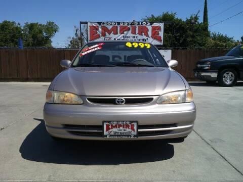 1998 Toyota Corolla for sale at Empire Auto Sales in Modesto CA
