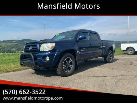 2008 Toyota Tacoma for sale at Mansfield Motors in Mansfield PA