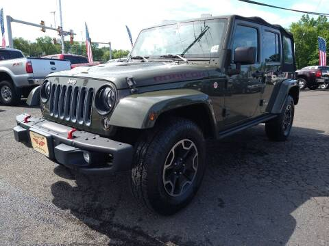 2016 Jeep Wrangler Unlimited for sale at P J McCafferty Inc in Langhorne PA