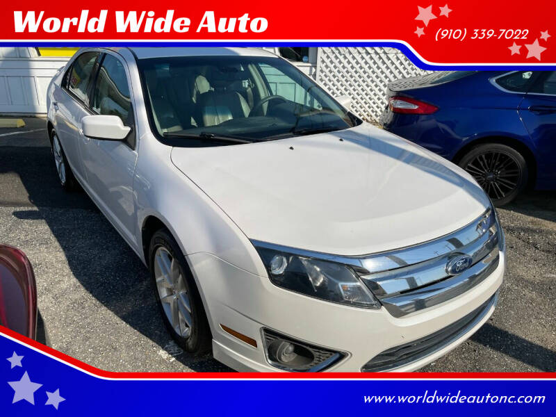 2012 Ford Fusion for sale at World Wide Auto in Fayetteville NC