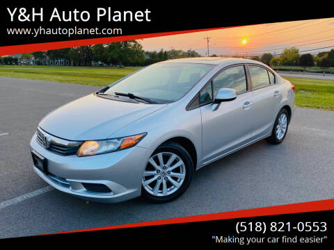 2012 Honda Civic for sale at Y&H Auto Planet in West Sand Lake NY
