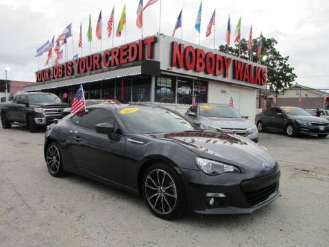 2013 Subaru BRZ for sale at Giant Auto Mart 2 in Houston TX