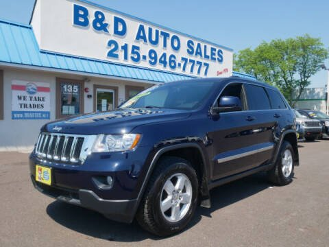 2013 Jeep Grand Cherokee for sale at B & D Auto Sales Inc. in Fairless Hills PA