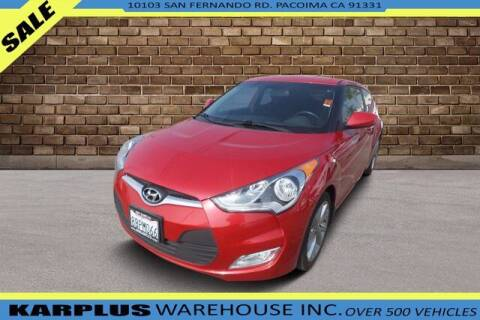 2017 Hyundai Veloster for sale at Karplus Warehouse in Pacoima CA