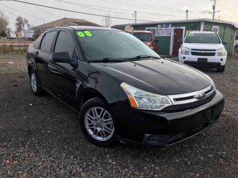 2008 Ford Focus for sale at 3-B Auto Sales in Aurora CO