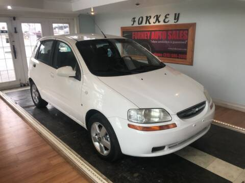 2008 Chevrolet Aveo for sale at Forkey Auto & Trailer Sales in La Fargeville NY