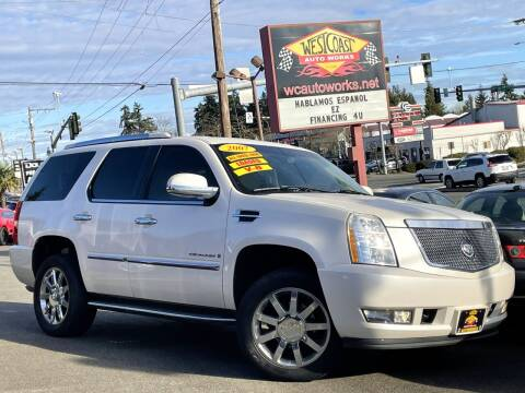 2007 Cadillac Escalade for sale at West Coast Auto Works in Edmonds WA