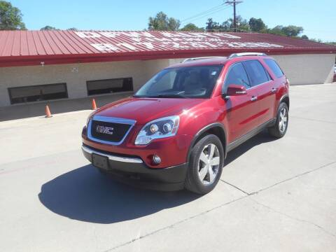 2012 GMC Acadia for sale at DFW Auto Leader in Lake Worth TX