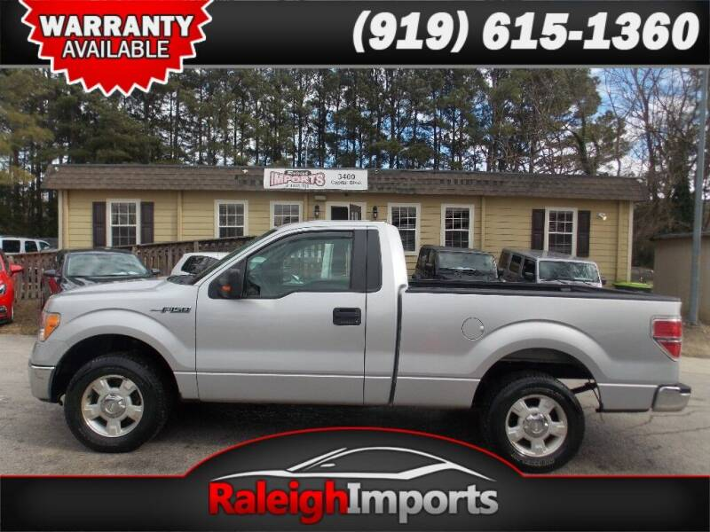 2010 Ford F-150 for sale at Raleigh Imports in Raleigh NC