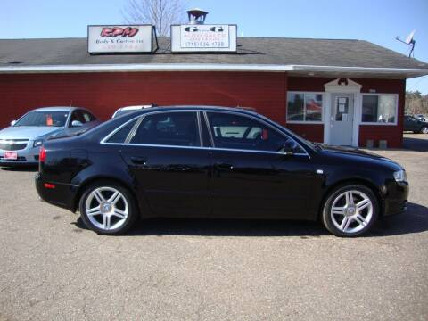 2007 Audi A4 for sale at G and G AUTO SALES in Merrill WI