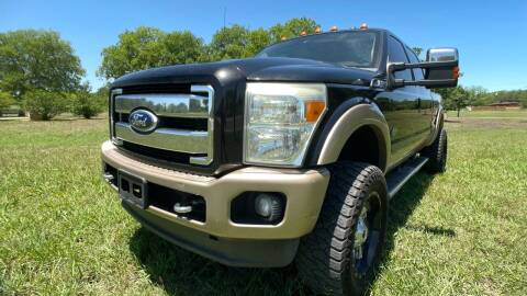 2011 Ford F-250 Super Duty for sale at Carz Of Texas Auto Sales in San Antonio TX