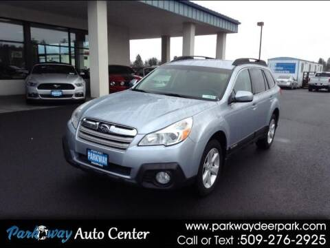 2013 Subaru Outback for sale at PARKWAY AUTO CENTER AND RV in Deer Park WA
