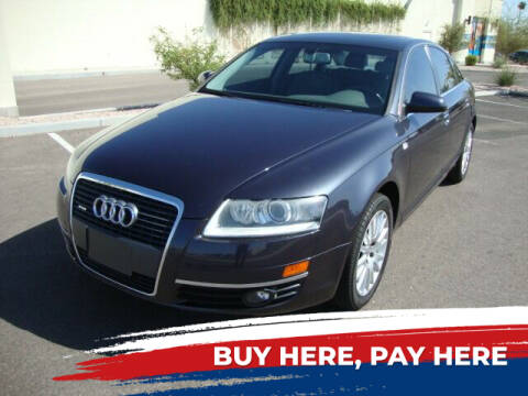 2006 Audi A6 for sale at FREDRIK'S AUTO in Mesa AZ