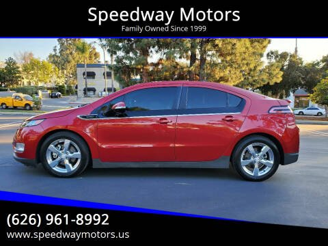 2012 Chevrolet Volt for sale at Speedway Motors in Glendora CA