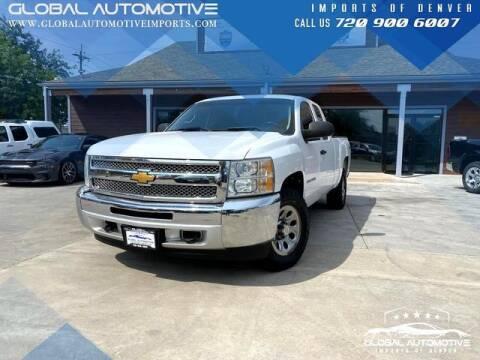 2012 Chevrolet Silverado 1500 for sale at Global Automotive Imports of Denver in Denver CO