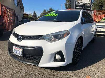 2014 Toyota Corolla for sale at AUTOMEX in Sacramento CA