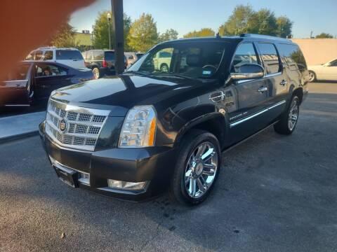 2013 Cadillac Escalade ESV for sale at DON BAILEY AUTO SALES in Phenix City AL