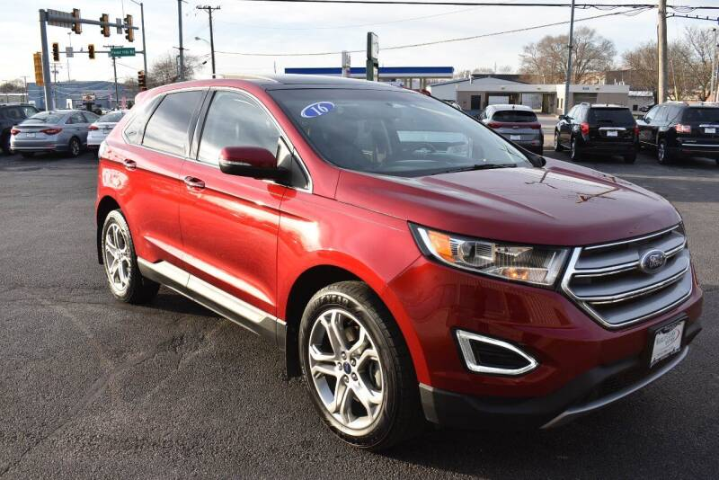 2016 Ford Edge for sale at World Class Motors in Rockford IL