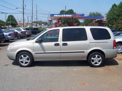 2007 Chevrolet Uplander for sale at Darin Grooms Auto Sales in Lincolnton NC