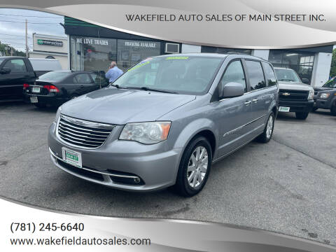 2015 Chrysler Town and Country for sale at Wakefield Auto Sales of Main Street Inc. in Wakefield MA