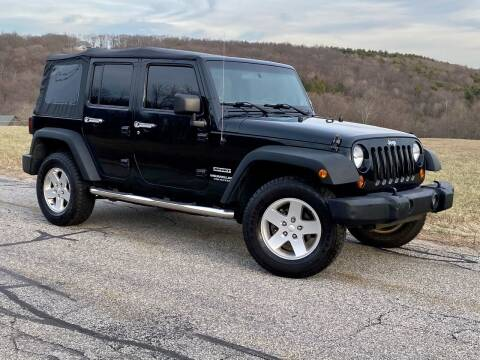 2012 Jeep Wrangler Unlimited for sale at York Motors in Canton CT