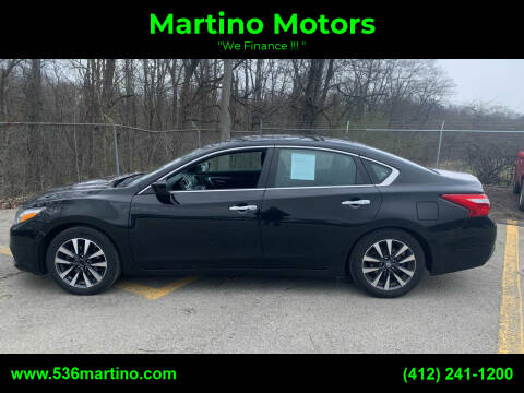 2017 Nissan Altima for sale at Martino Motors in Pittsburgh PA