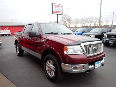 2004 Ford F-150 for sale at Marty's Auto Sales in Savage MN