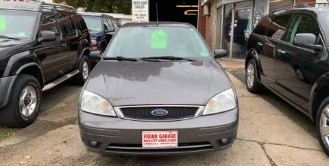 2007 Ford Focus for sale at Frank's Garage in Linden NJ