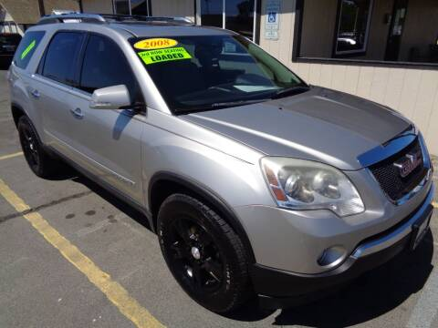 2008 GMC Acadia for sale at BBL Auto Sales in Yakima WA