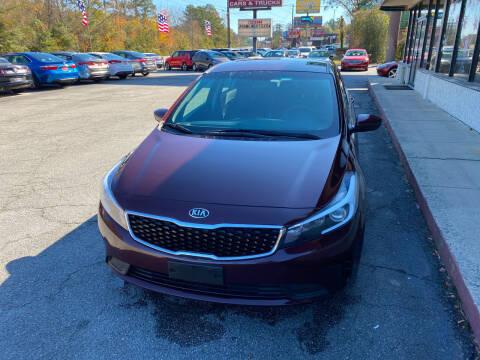 2017 Kia Forte for sale at J Franklin Auto Sales in Macon GA